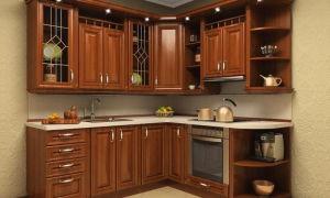 Угловая кухня — преимущества и особенности.